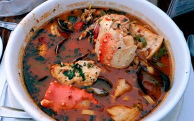 Sopa de pescado a la Sambenedettese
